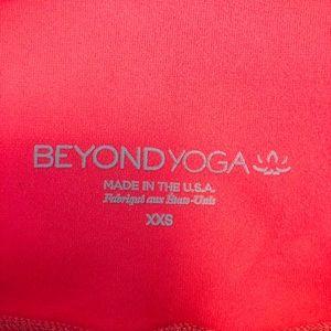 Beyond Yoga Pants - Beyond yoga space dye pink legging. Size xxs